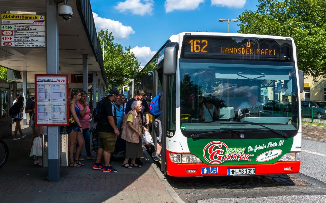 Nach Rahlstedt-Ost fährt zukünftig die MetroBus-Linie 11