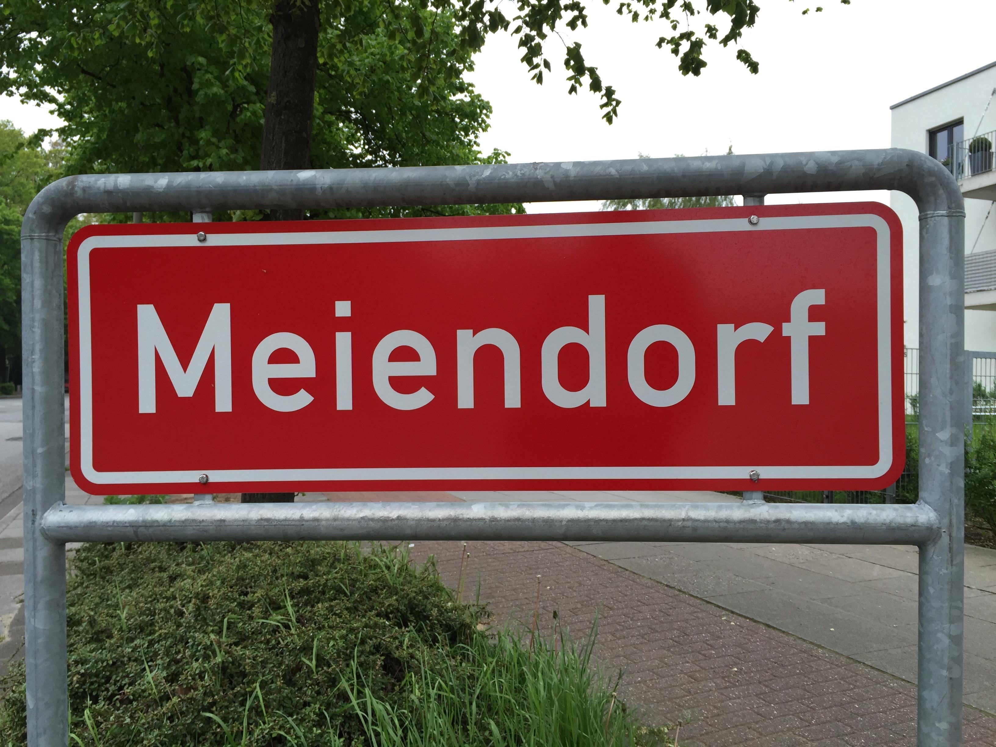 Ortsteilschild Meiendorf