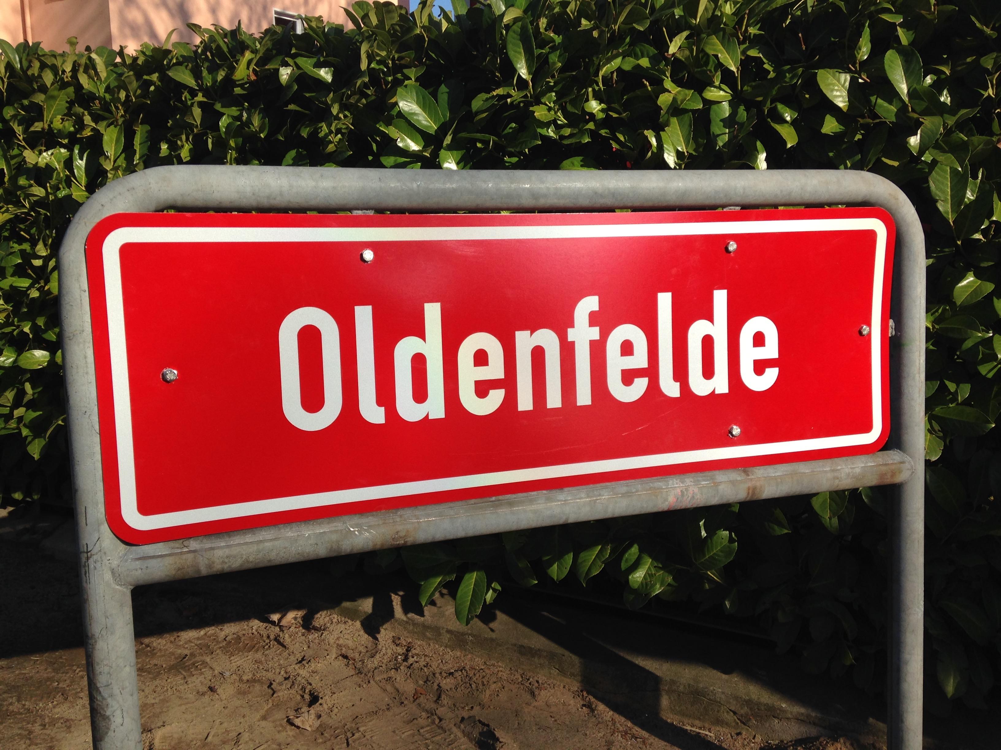 Ortsteilschild Oldenfelde