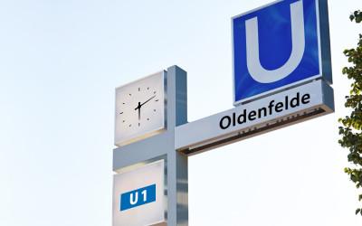 U-Bahn-Haltestelle Oldenfelde: Nächste Woche starten vorbereitende Arbeiten