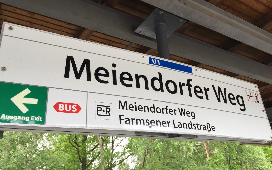 Im August startet der barrierefreie Umbau der U-Bahn-Haltestelle Meiendorfer Weg