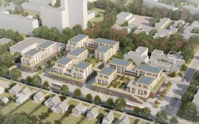Nahversorgungszentrum Spitzbergenweg: Neubauplanung fertig