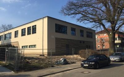 Neue Mensa für Gymnasium und Stadtteilschule Oldenfelde seit Februar in Betrieb