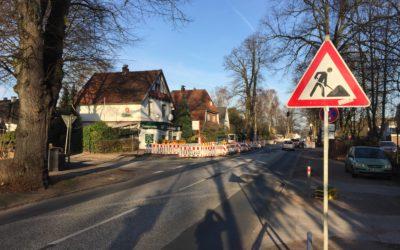 Neubau der Meiendorfer Straße: erste Bauarbeiten beginnen am 1. März