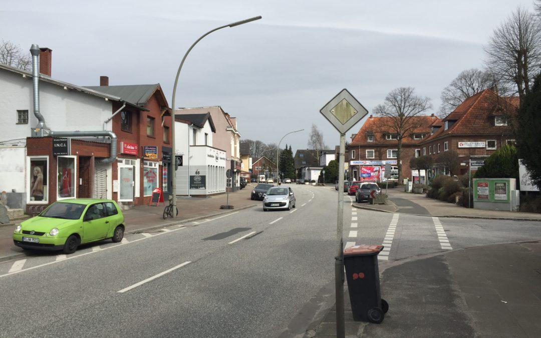 Einbahnstraßenregelung: Ab 7. August wird in der Rahlstedter Straße gebaut