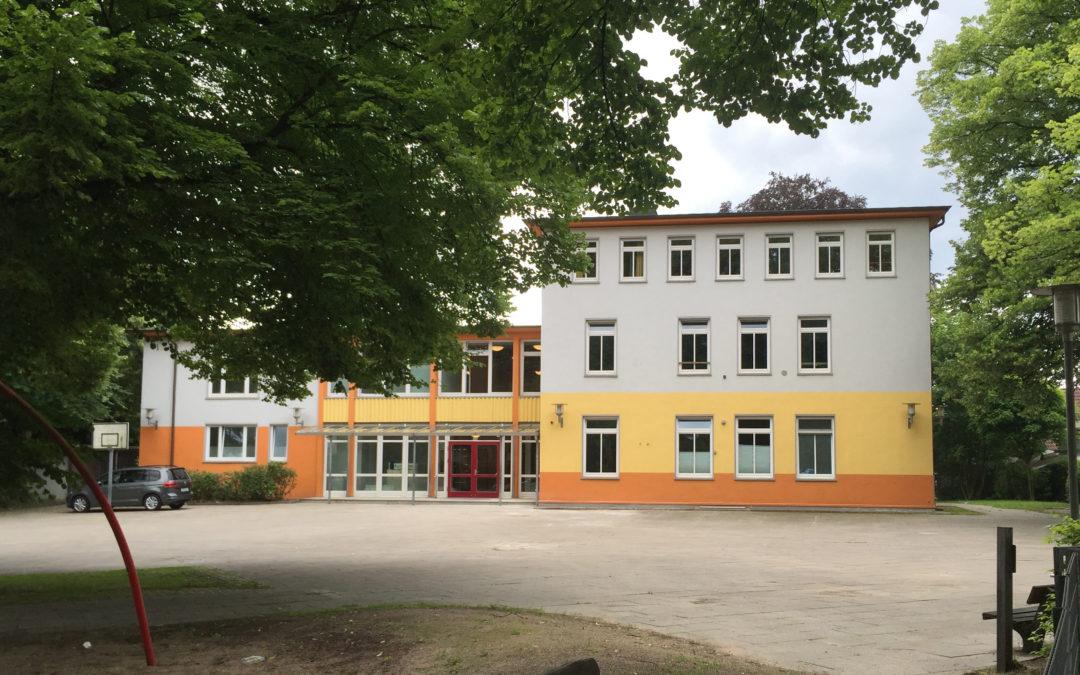 Betreute Einrichtung für Flüchtlinge in der Stapelfelder Straße 7 in Hamburg-Rahlstedt
