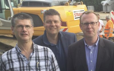 Mit Andreas Dressel auf Sommertour in Rahlstedt