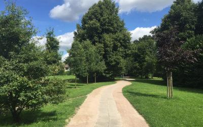 Greifenberg-Park: Wege wurden instandgesetzt