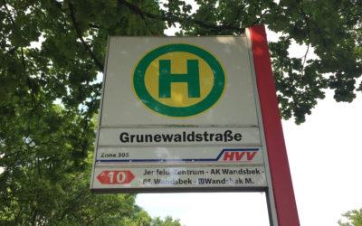 Grunewaldstraße soll an MetroBus-Linie 10 angeschlossen werden