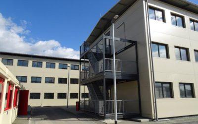 Erstaufnahme für Flüchtlinge am Rahlstedter Grenzweg soll diese Woche eröffnen