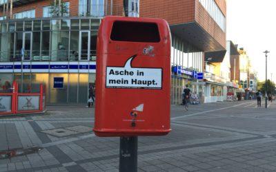 Stadtreinigung stellt weitere 500 Papierkörbe auf und bittet um Vorschläge