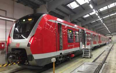 Auch für die S4: neues S-Bahn-Fahrzeug ET 490 vorgestellt