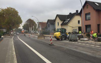 Bauarbeiten beendet: Scharbeutzer Straße wieder frei