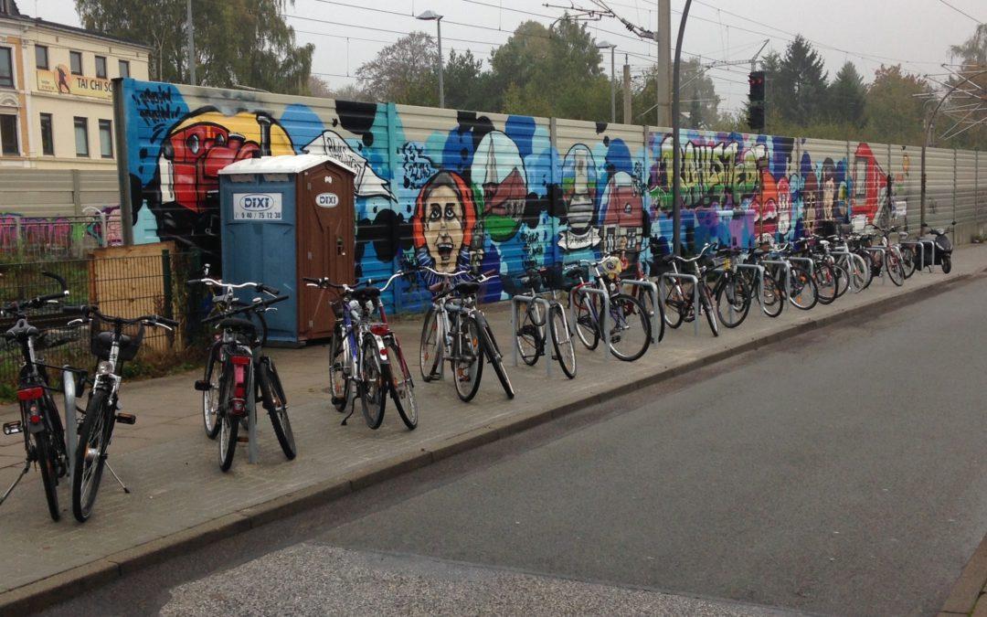 Bike+Ride am Bahnhof Rahlstedt: Mehr Fahrradstellplätze geplant