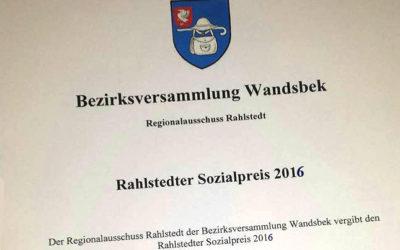 Regionalausschuss Rahlstedt sucht Vorschläge für Umwelt- und Sozialpreis