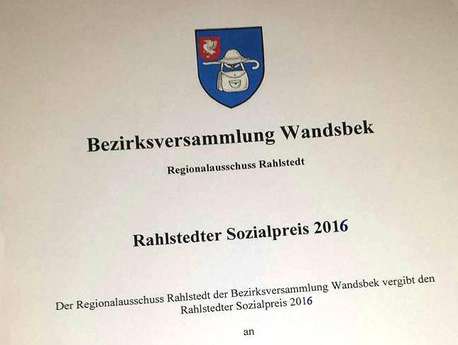 Vorschläge erbeten: Regionalausschuss Rahlstedt vergibt Umwelt- und Sozialpreis
