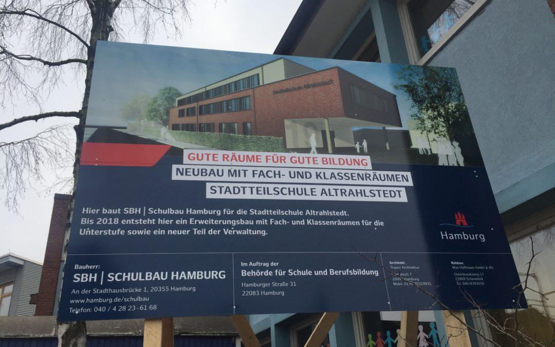Stadtteil- und Kulturschule Altrahlstedt feiert Neubau