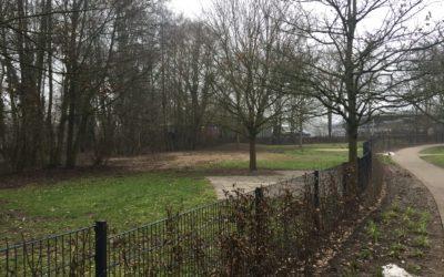 Spielplatz Nydamer Weg wird wieder aufgebaut