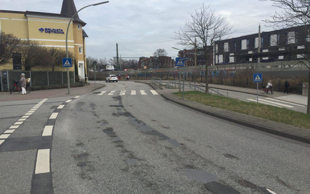 Mehrere Straßen in Rahlstedt bekommen 2017 eine neue Fahrbahndecke