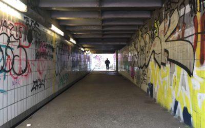 Nächste Woche: Schüler werten alten Rahlstedter Bahnhofstunnel mit Graffiti auf