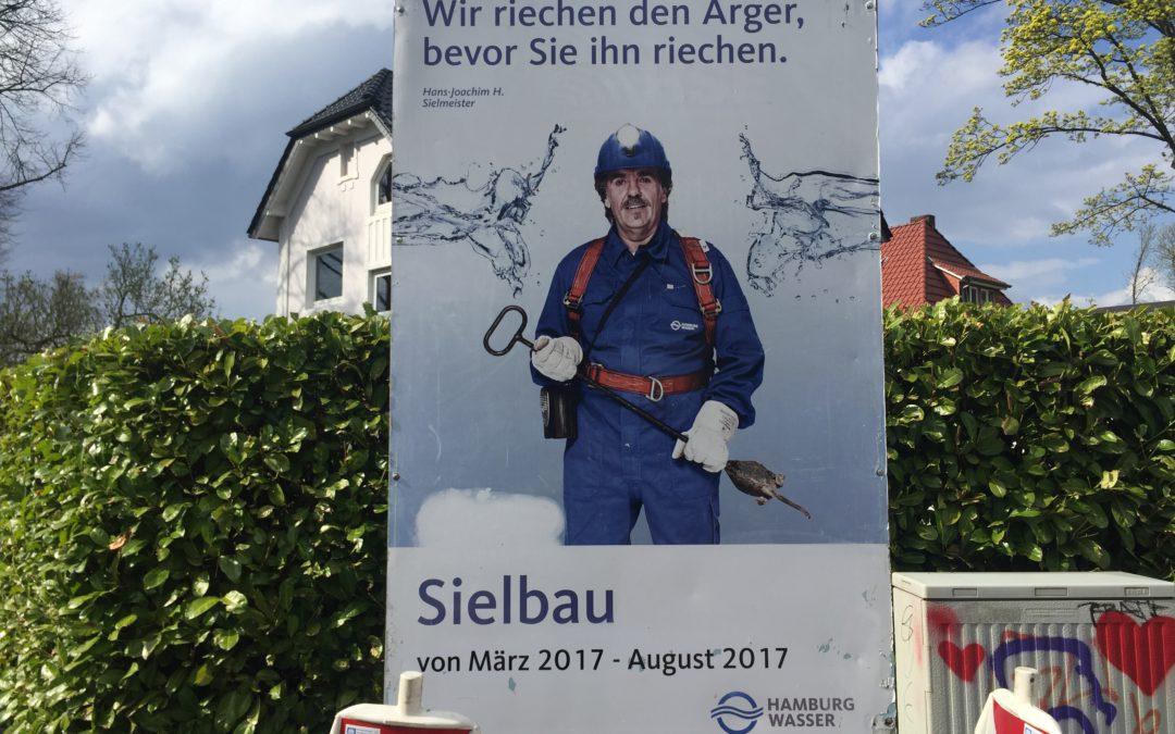 Bauarbeiten in der Buchwaldstraße: Neues Siel und neue Straße