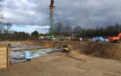 Bauarbeiten für 153 neue Wohnungen am Schierenberg haben begonnen