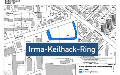 Senat hat beschlossen: neue Straße in Meiendorf heißt Irma-Keilhack-Ring