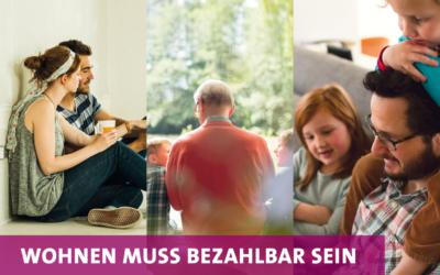 Einladung: Wohnen muss bezahlbar sein – Gutes Wohnen in Rahlstedt