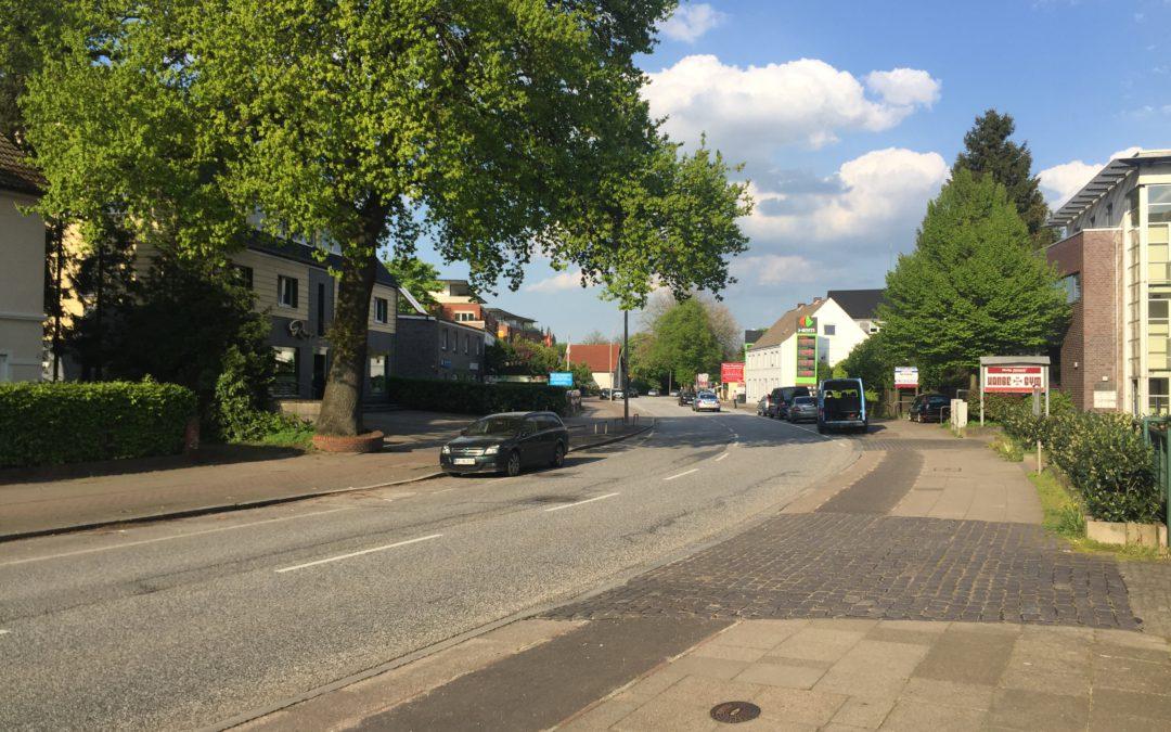 Planungskonzept für weitere Sanierung der Rahlstedter Straße wird vorgestellt