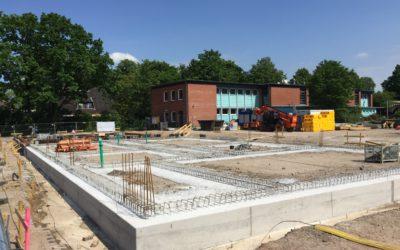 Stadtteilschule Meiendorf: Bauarbeiten für zweite Sporthalle gehen voran