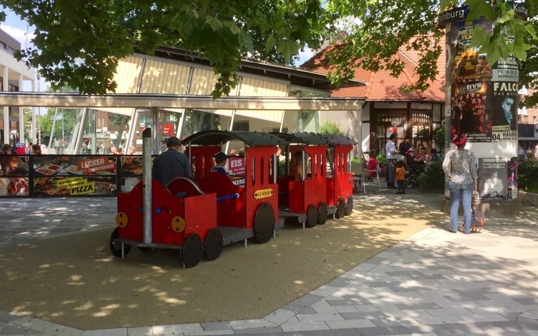 Mehr Spielgeräte für Kinder im Ortskern Rahlstedt