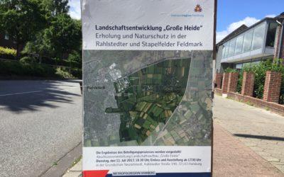 """Abschlussveranstaltung im Beteiligungsprozess für das Entwicklungskonzept """"Große Heide"""""""