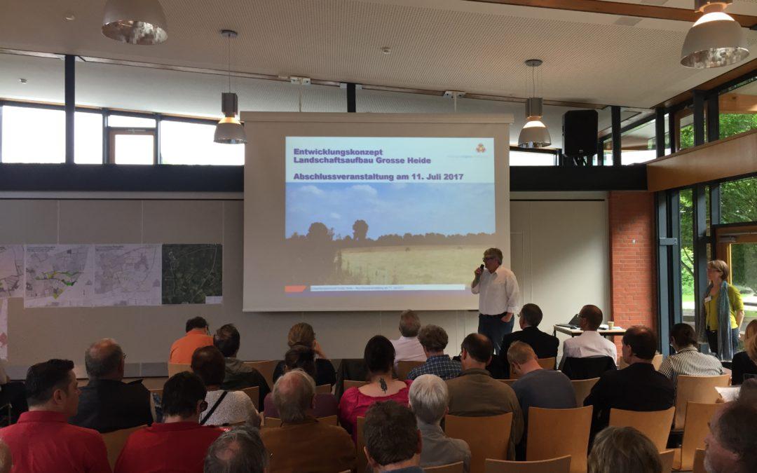 """Beteiligungsprozess """"Große Heide"""": Arbeitsergebnisse wurden vorgestellt"""