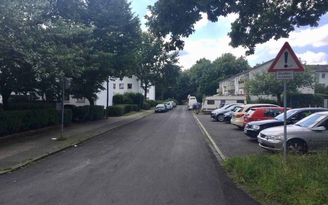 Nieritzweg: Adé Schlaglöcher