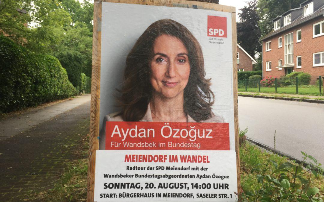 """Einladung zur Radtour """"Meiendorf im Wandel"""""""