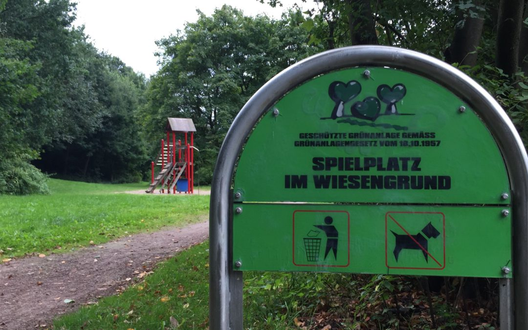 Spielplatz Im Wiesengrund: Kinder und Jugendliche planen Neu- und Umgestaltung mit