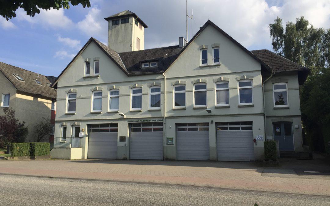 Freiwillige Feuerwehr Rahlstedt bekommt ein neues Feuerwehrhaus