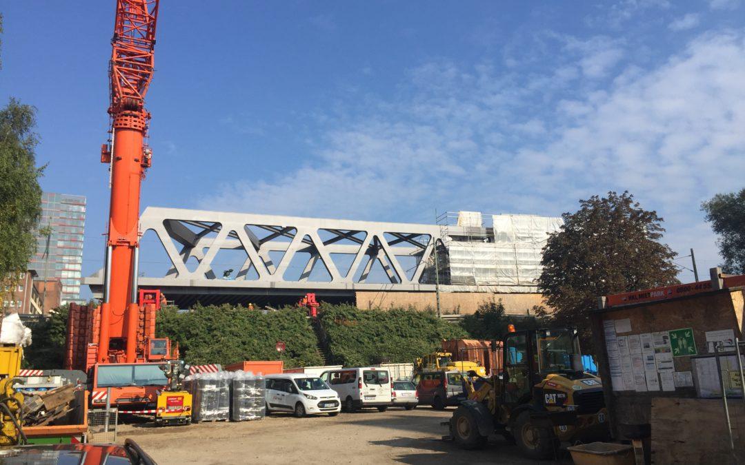 Bauarbeiten am Berliner Tor: Einschränkungen bei der RB81