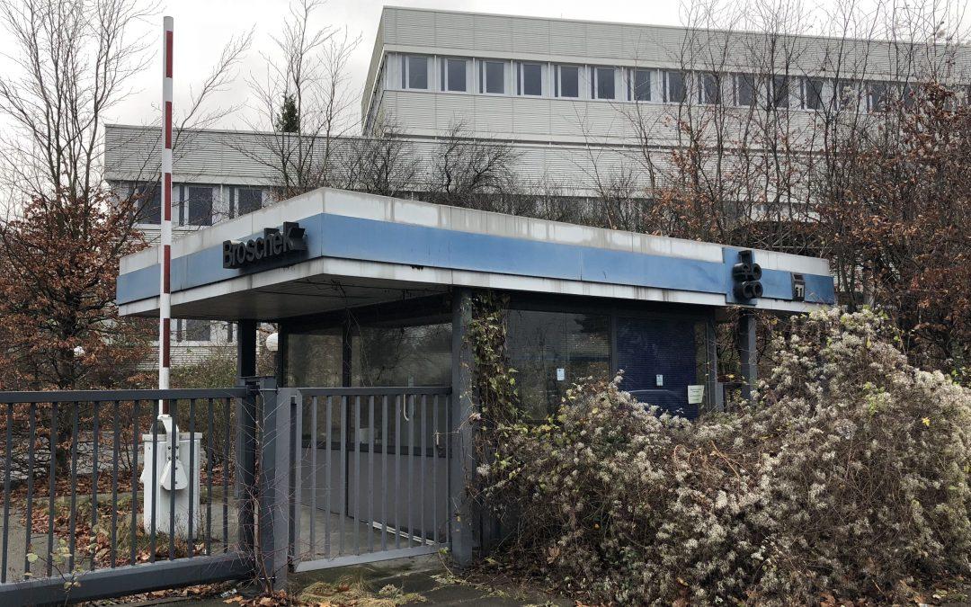 Was passiert mit dem Gelände der ehemaligen Druckerei Broschek?