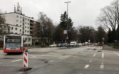 Ab Samstag freie Fahrt in der Meiendorfer Straße und in der Berner Straße