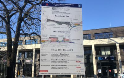 Fußgängerzone Boizenburger Weg/Mecklenburger Straße wird behutsam umgestaltet