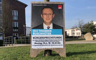Buschhüter lädt ein zur Bürgersprechstunde im Quartier Boltwiesen