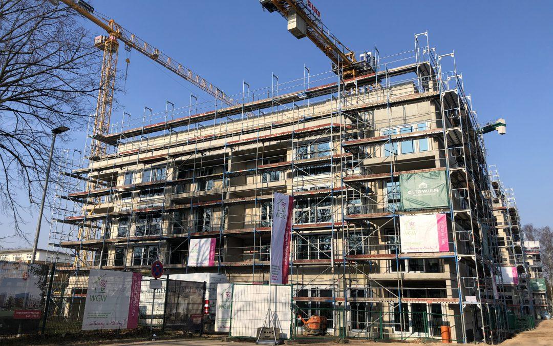 Erfolgreicher Wohnungsbau – auch in Rahlstedt, Oldenfelde und Meiendorf