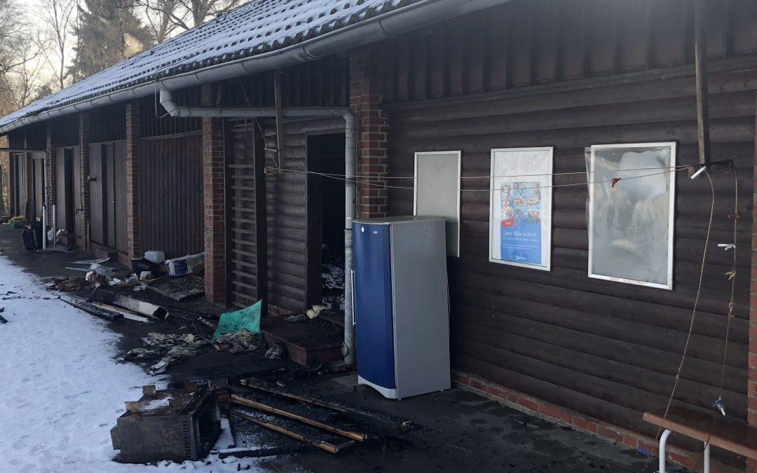 Trotz Brand: Freibad Rahlstedt öffnet auch in der nächsten Saison wieder