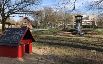 Neue Spielgeräte für den Spielplatz am Kriegkamp in Meiendorf