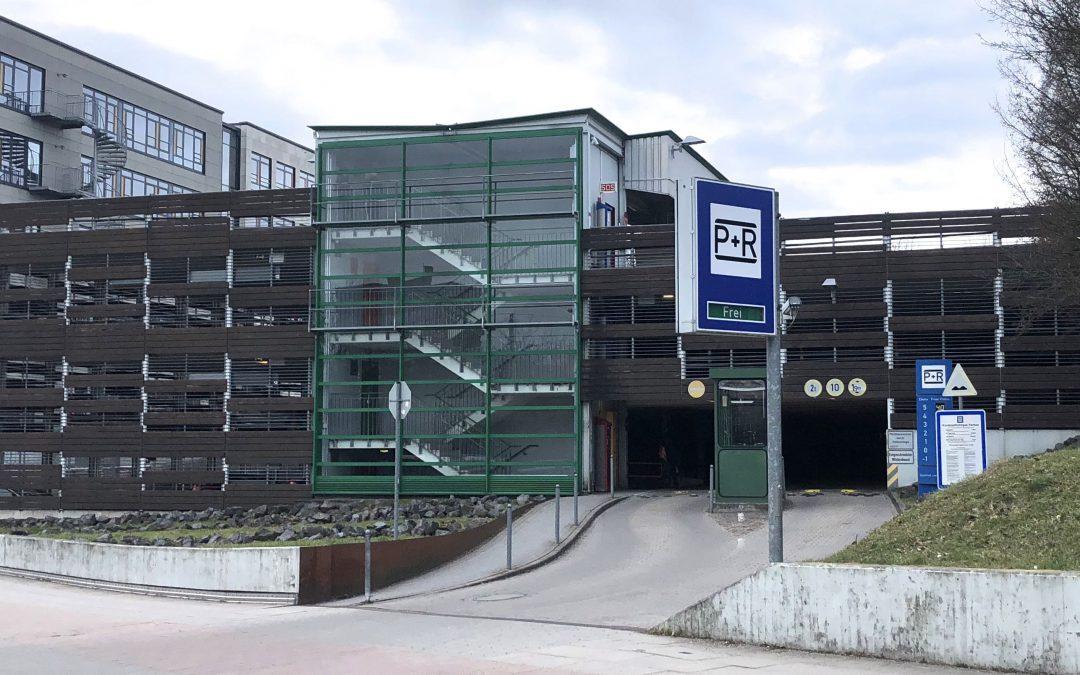 Ab 2019: Park+Ride am Bahnhof Rahlstedt zum halben Preis