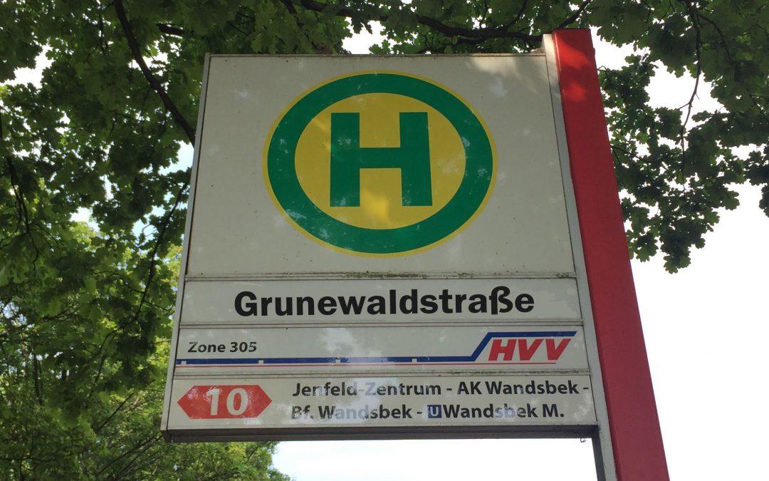 MetroBus-Linie 10 wird in die Grunewaldstraße verlängert