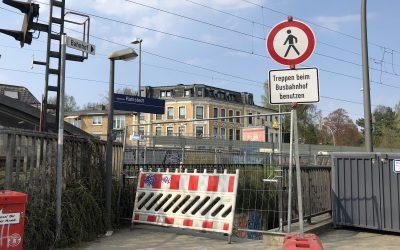 Rahlstedt: Warum ist eigentlich der alte Bahnhofstunnel gesperrt?