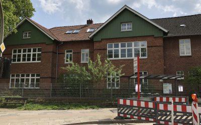Historische Grundschule Altrahlstedt wird 2018/2019 umfangreich saniert