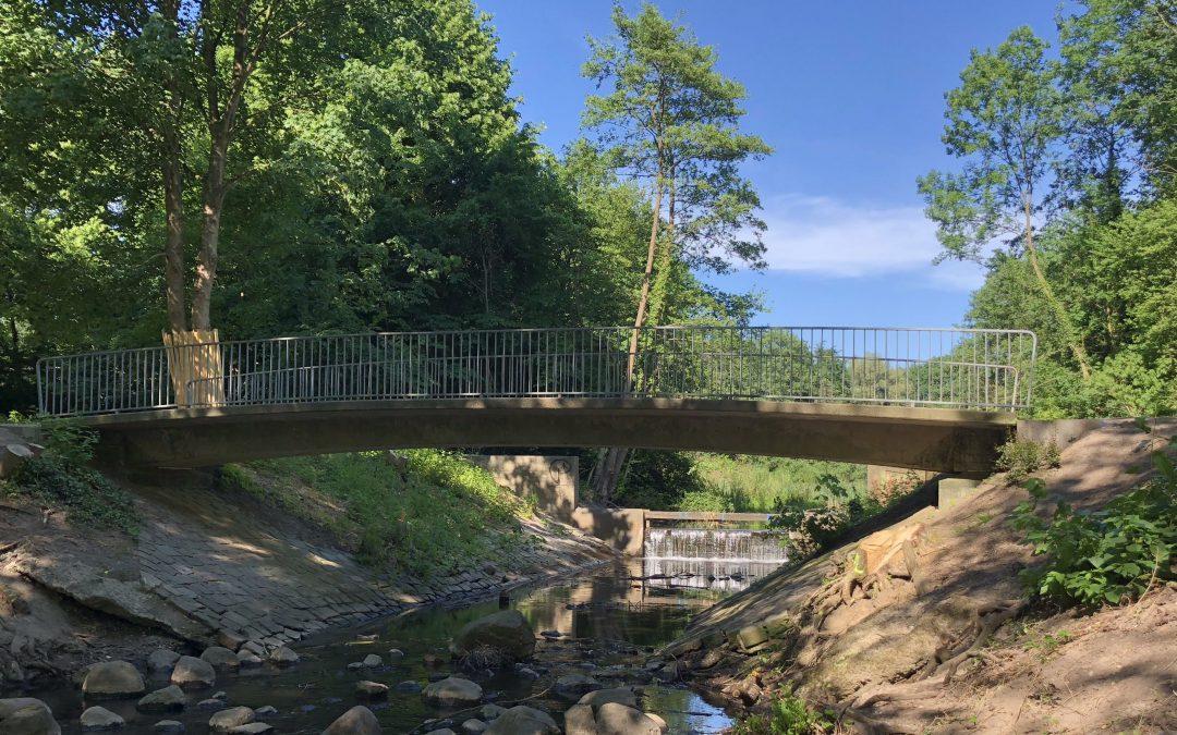 Wandse im Rahlstedter Pulverhofpark wird renaturiert